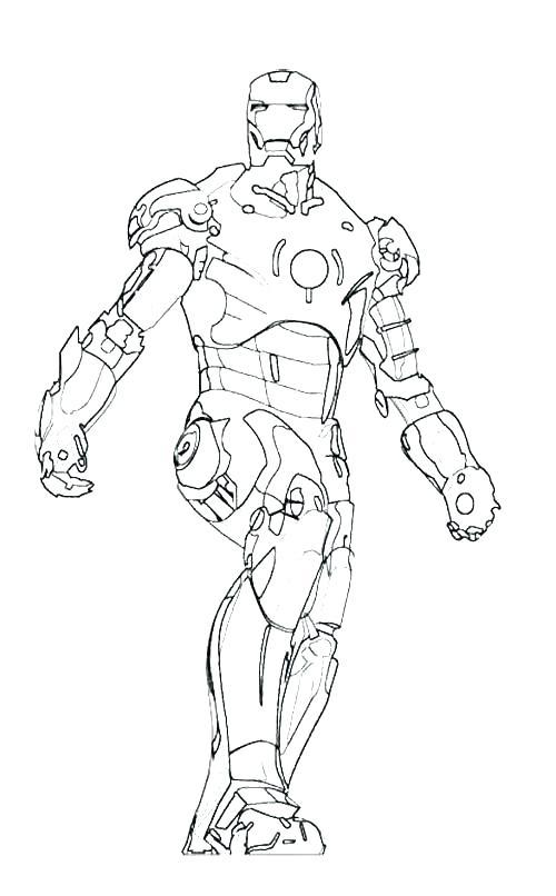500x806 Iron Man Coloring Pages Iron Man Coloring Pages Iron Man