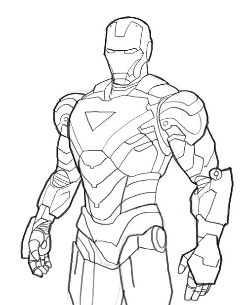 500x619 Iron Man Printable Coloring Pages Printable Coloring Pages Iron
