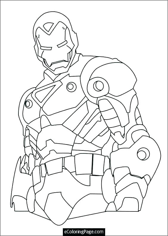 iron man coloring pages free printable 20