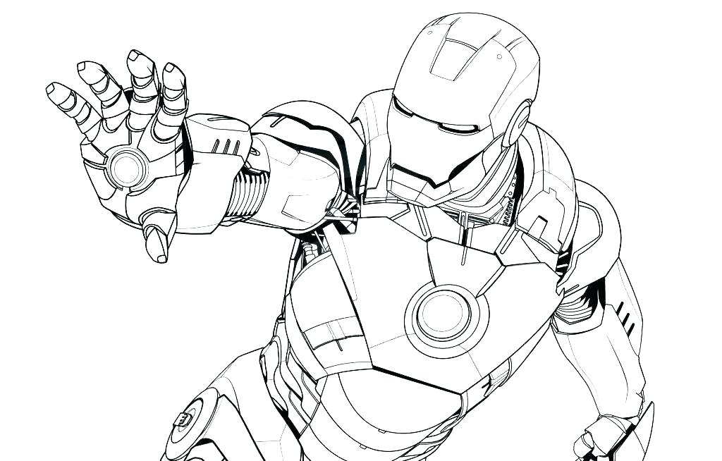 1024x654 Printable Ironman Coloring Pages Coloring Pages Ideal Coloring