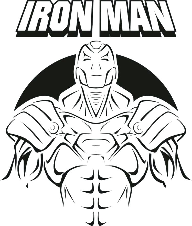 750x880 Printable Ironman Coloring Pages Iron Man Ready Ultimate Weapon