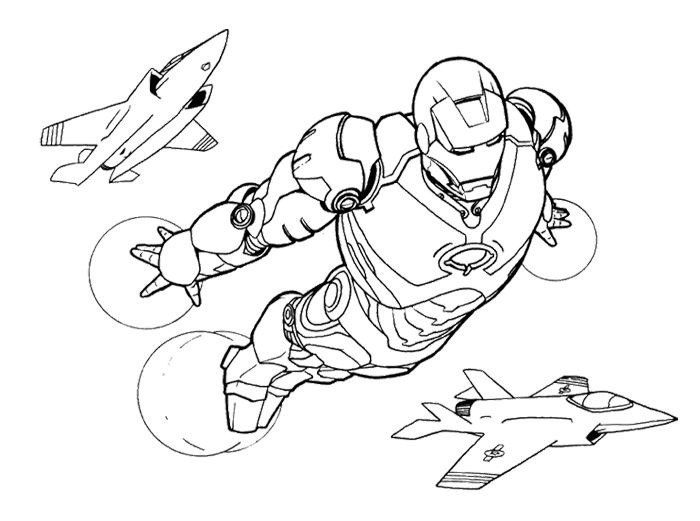 700x521 Wonderful Iron Man Coloring Pages For Kids