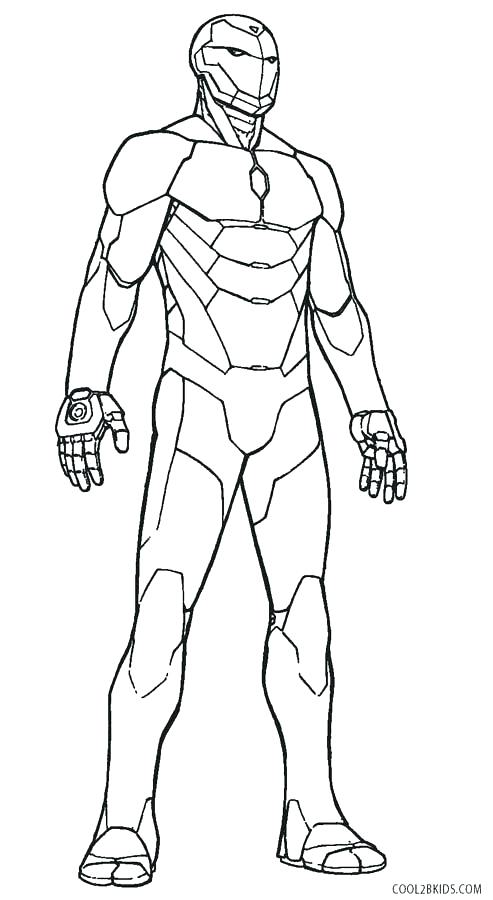 493x900 Man Coloring Pages