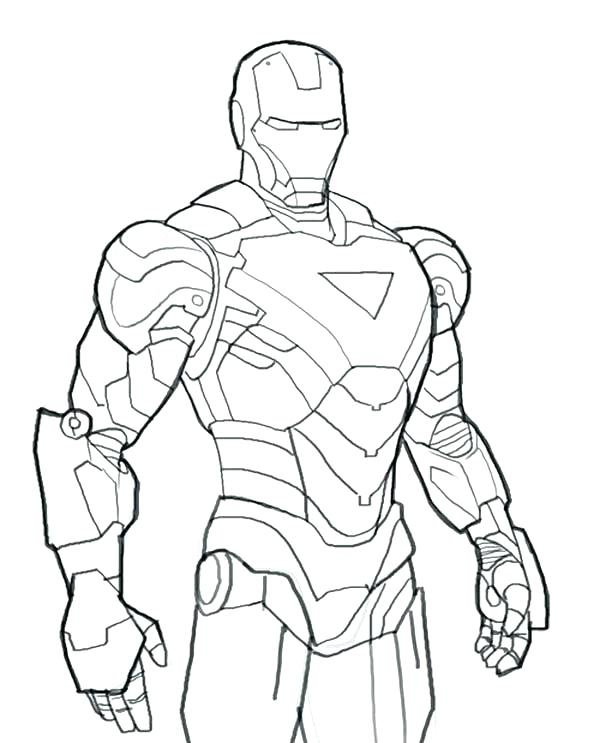 600x743 Free Iron Man Coloring Pages Iron Man Coloring Pages Free Iron Man
