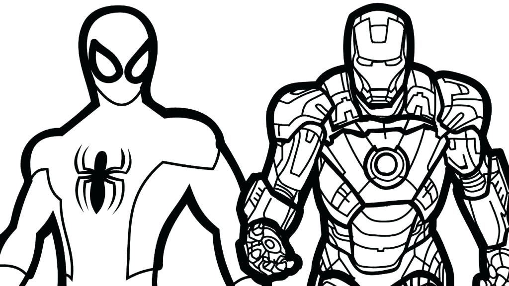 1024x576 Iron Man Coloring Pages Iron Man Iron Man Color Pages Dtechedu