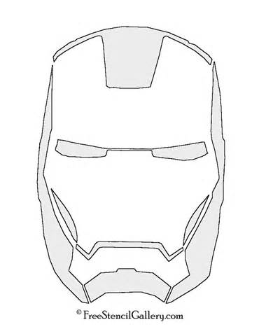 Iron Man Face Coloring Pages At Getdrawings Com Free For Personal