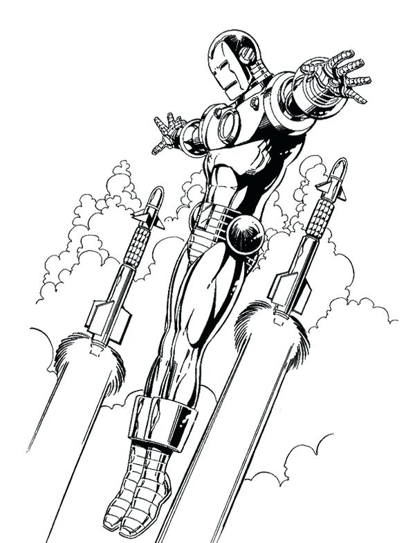 600x785 Iron Man Color Page Iron Man Flying Coloring Page Iron Man