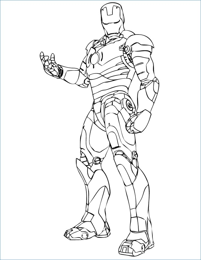 Iron Man Flying Coloring Pages At Getdrawings Com Free For
