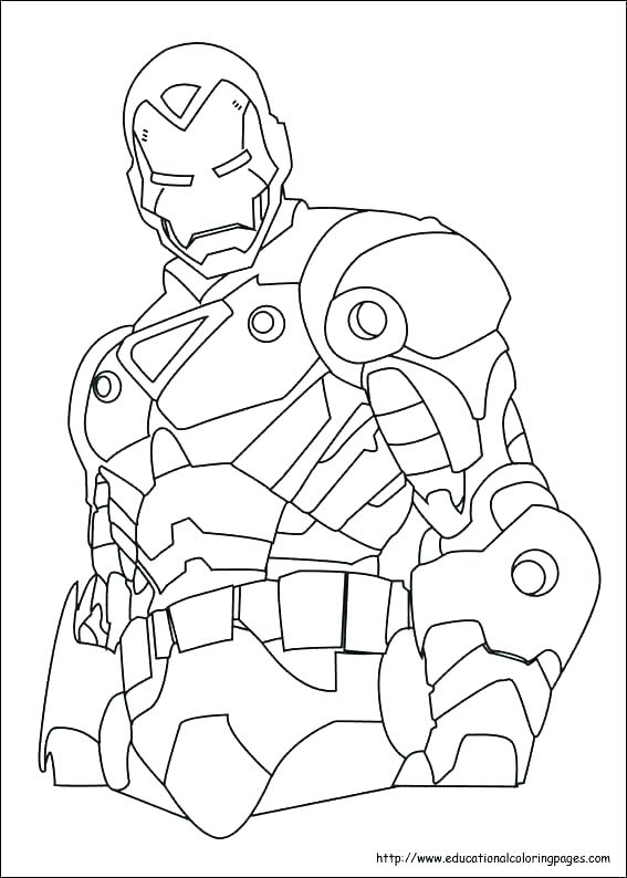 567x794 Iron Man Coloring Pages Online Iron Man Coloring Pages Online Iron