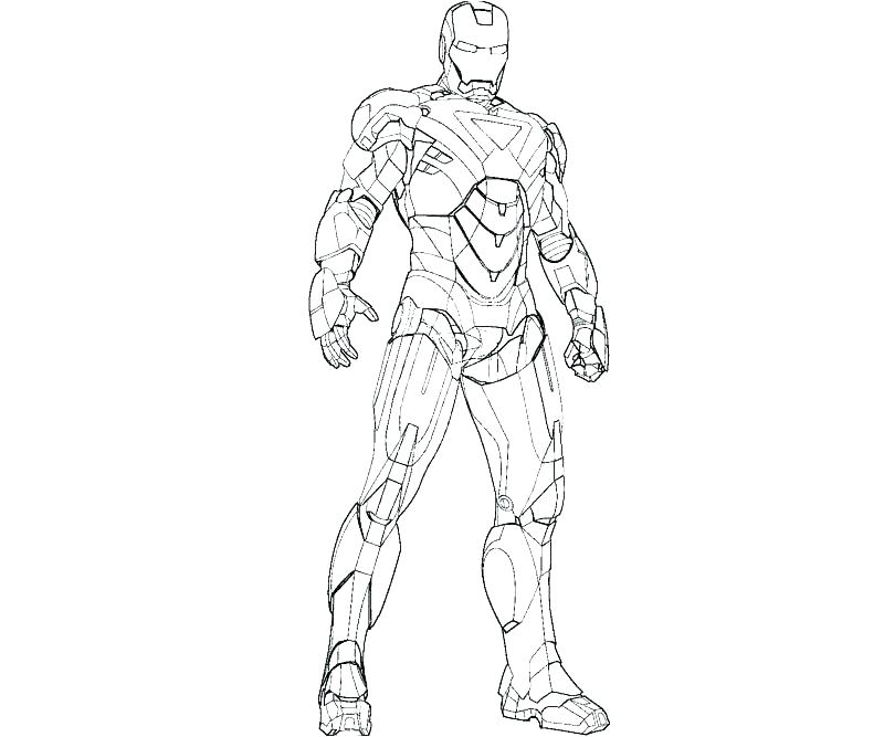 graphic relating to Iron Man Printable named Iron Male Printable Coloring Web pages at  No cost