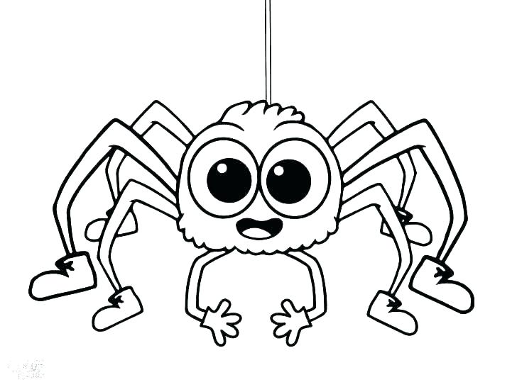 728x546 Iron Spider Coloring Pages Spider Coloring Pages Spider Coloring