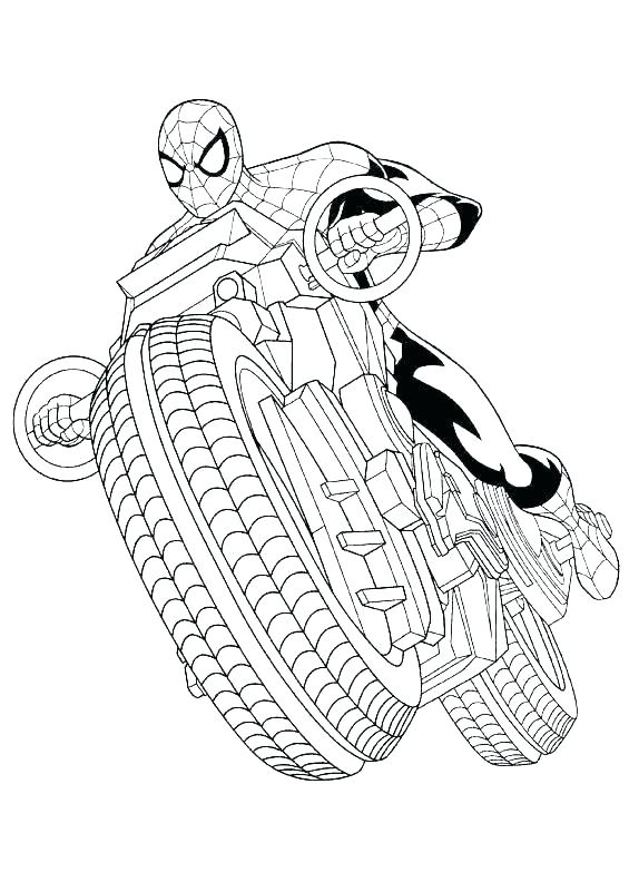 Iron Spider Coloring Pages At Getdrawings Com Free For Personal