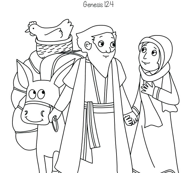 Isaac Coloring Pages
