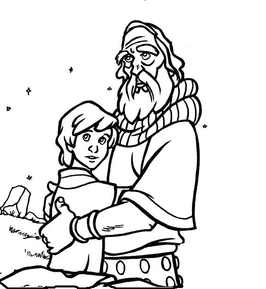 Isaac Is Born Coloring Pages At Getdrawings Com Free For Personal
