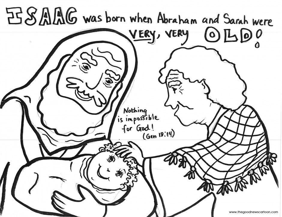 940x726 Isaac Is Born Coloring Pages Abraham And Isaac A Pattern Of Things
