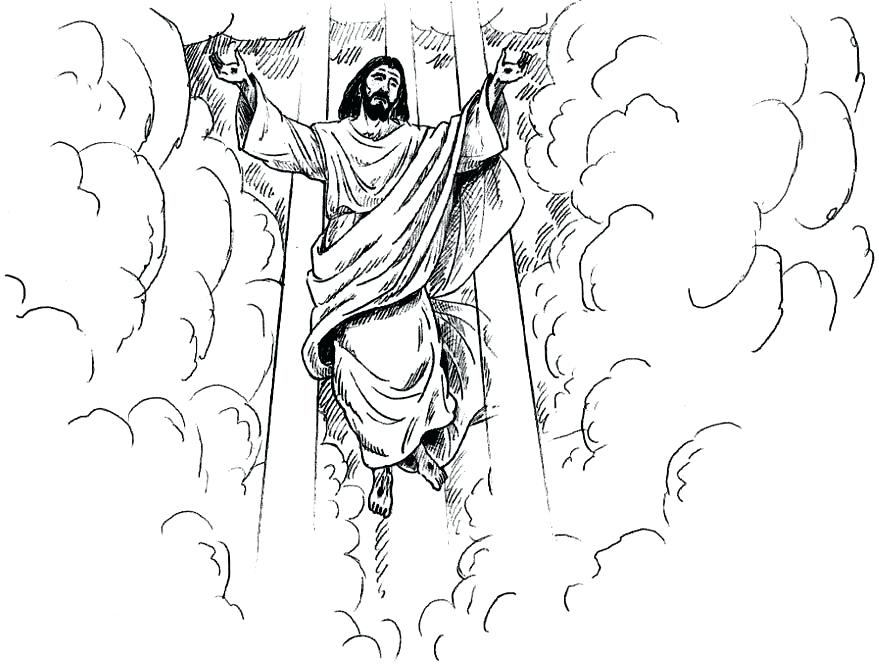 879x667 Isaiah Told About Jesus Coloring Page Deepart