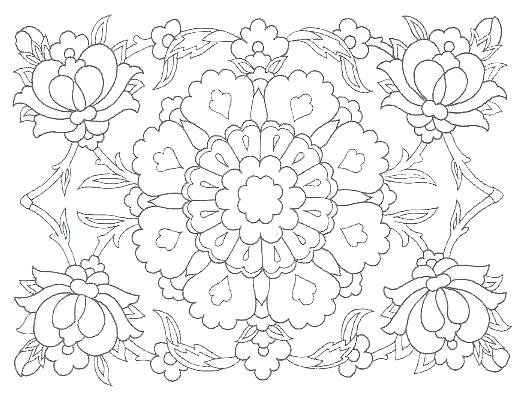 526x410 Islamic Art Coloring Pages Islamic Art Coloring Sheets