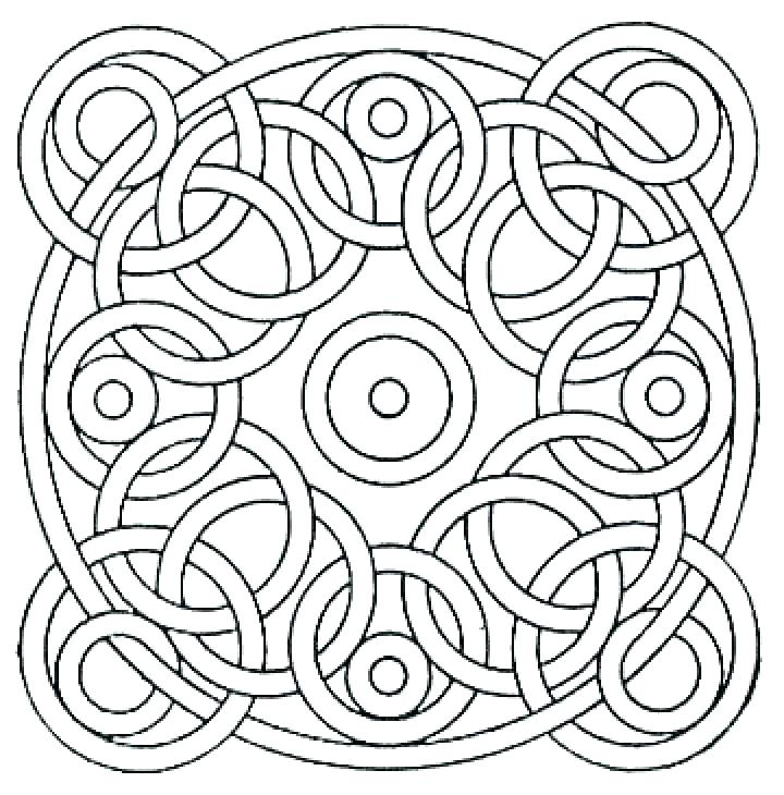720x730 Coloring Pages Mosaic Coloring Page For Your Idea Coloring Pages