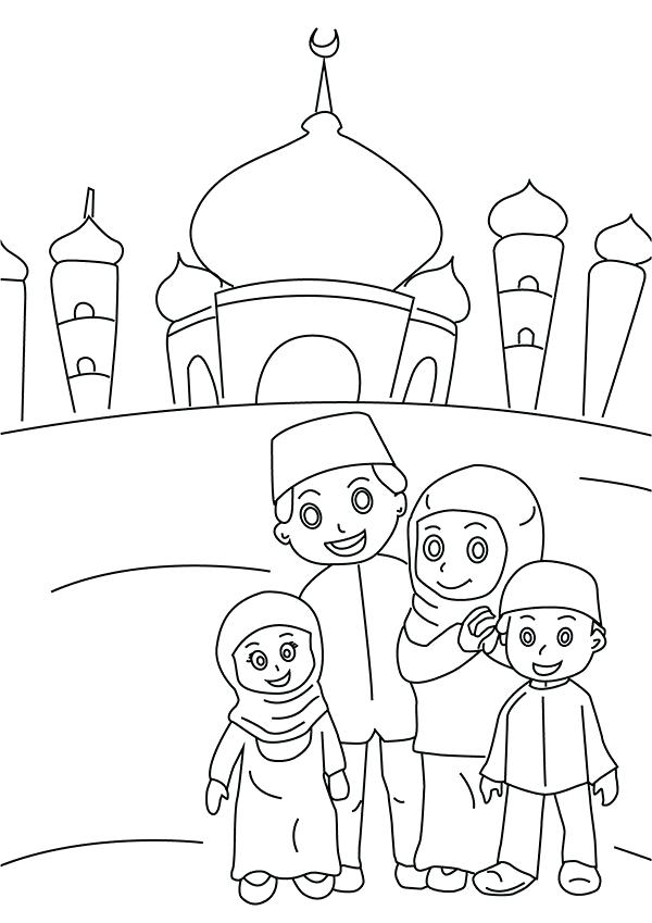 600x849 Islamic Coloring Pages Colouring Pages Islamic Tile Coloring Pages