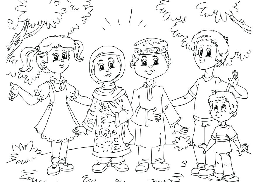 875x620 Islamic Coloring Pages Download Large Image Islamic Coloring Pages