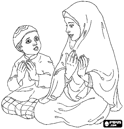 Islamic Coloring Pages At Getdrawings Com Free For Personal Use