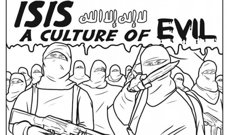 775x463 Coloring Book Highlights Brutality Islamic State The Times