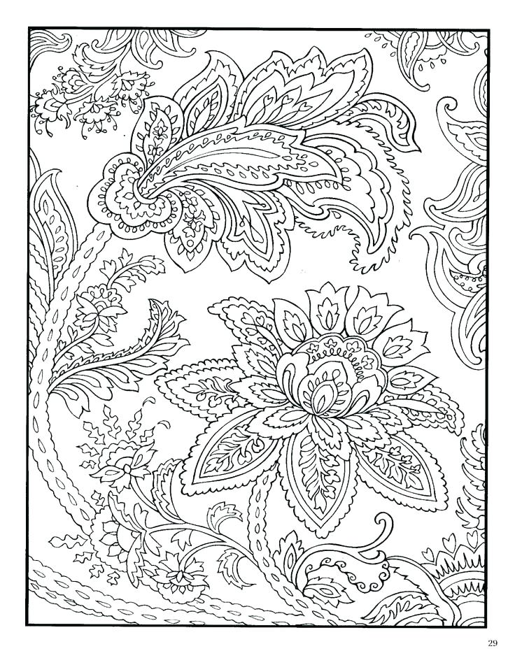 736x951 Geometric Pattern Coloring Pages Coloring Pages Of Designs Pattern