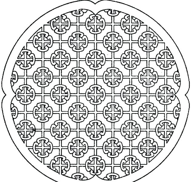630x600 Geometric Patterns Coloring Pages Geometric Pattern Coloring Pages