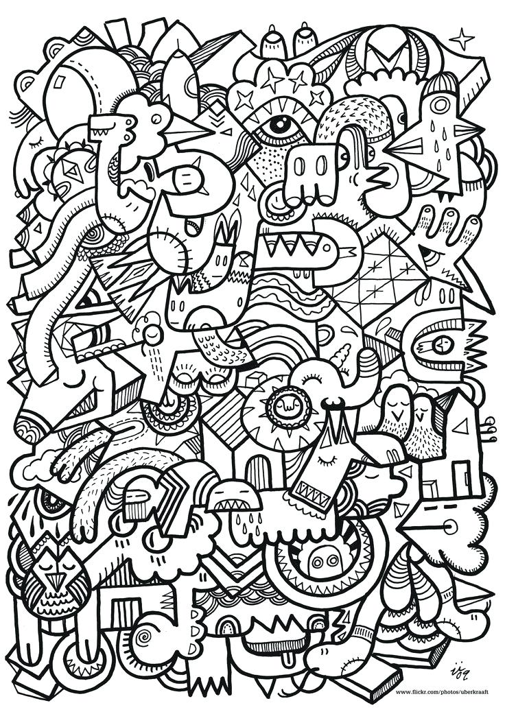 736x1041 Pattern Coloring Pages To Print Design Coloring Pages To Print
