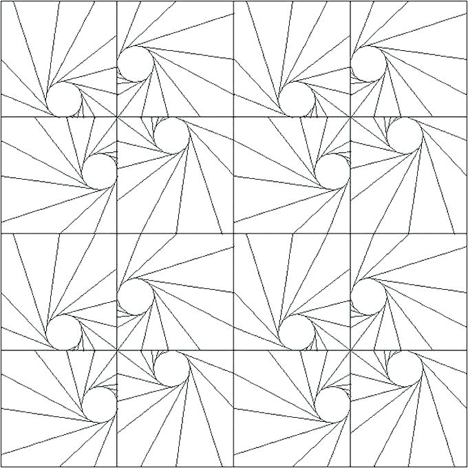 680x680 Coloring Pages Patterns Free Geometric Pattern Coloring Page