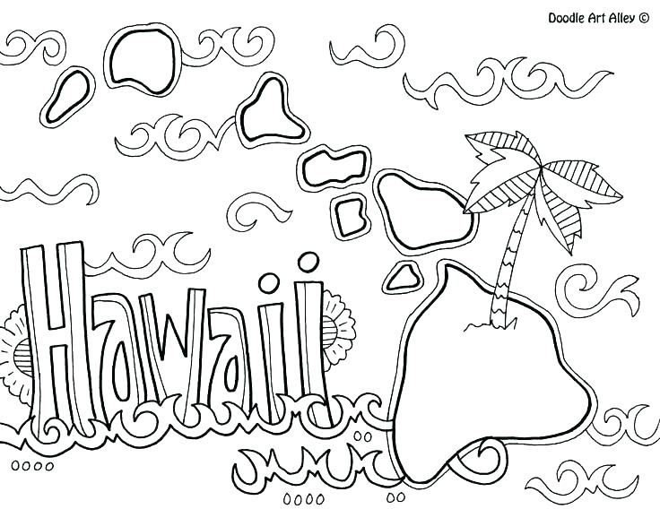 736x568 From The As Well As From The Island Coloring Page Tropical Island