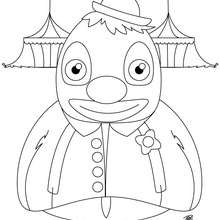 It Clown Coloring Pages