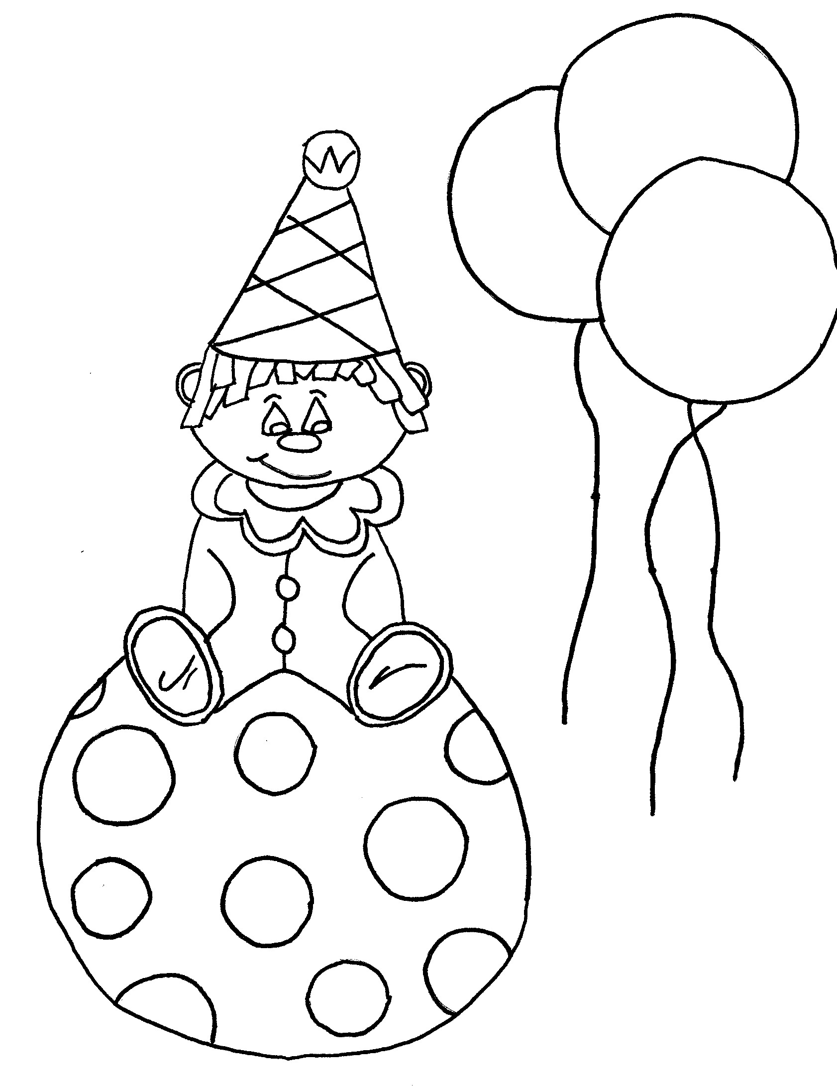 1682x2182 Coloring Pages Clown Hats The Ideas Of Coloring Page To Print