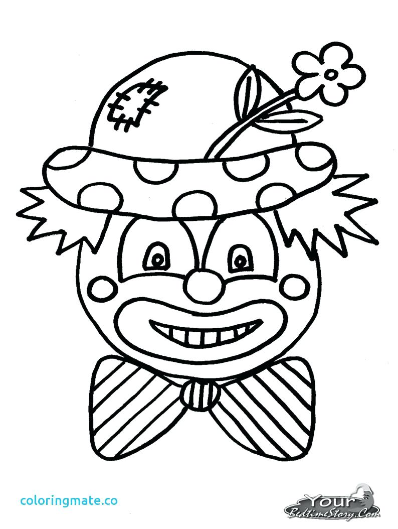 794x1054 Huge Gift Clown Colouring Pictures Coloring Page Scary Pages Easy