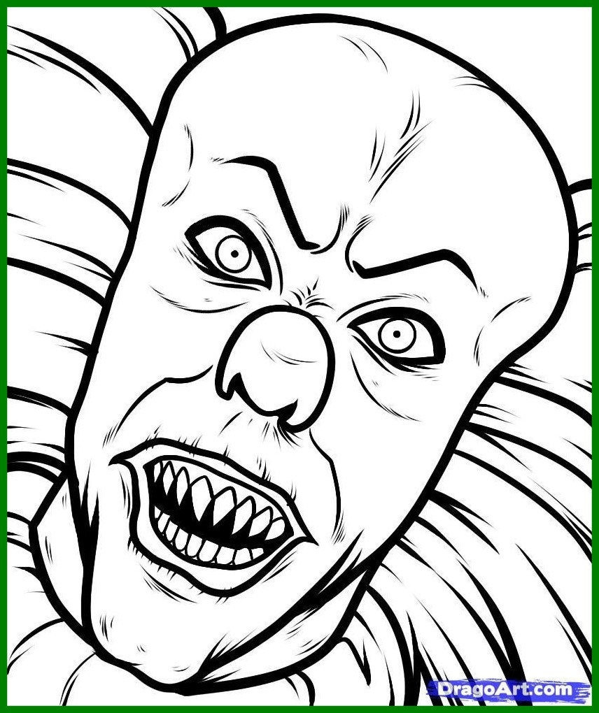 856x1020 Incredible Animation Of Pennywise The Clown From Stephen King U It