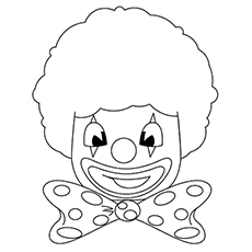 230x230 Top Free Printable Funny Clown Coloring Pages Online