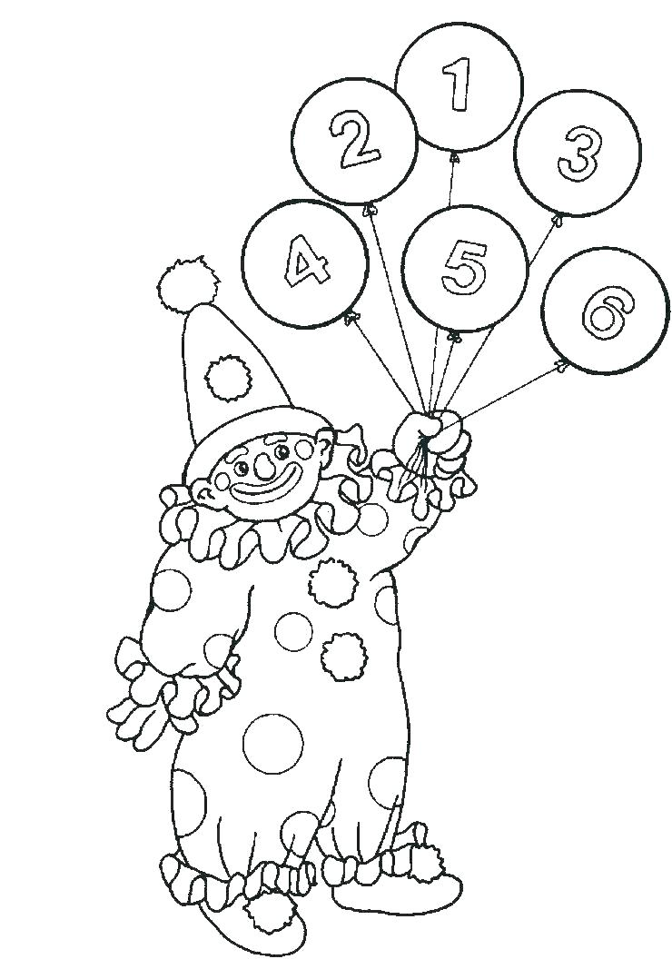 740x1056 Circus Coloring Pages Printable Clown Coloring Pages Printable