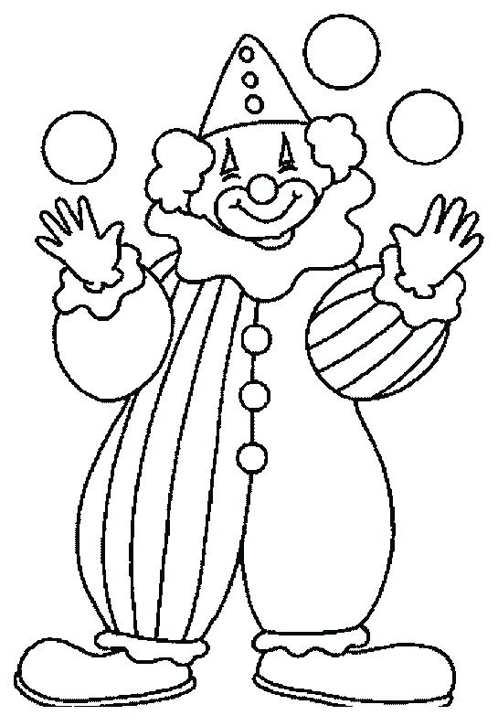 545x794 Clown Coloring Page Clown Coloring Book Pages Circus Colouring