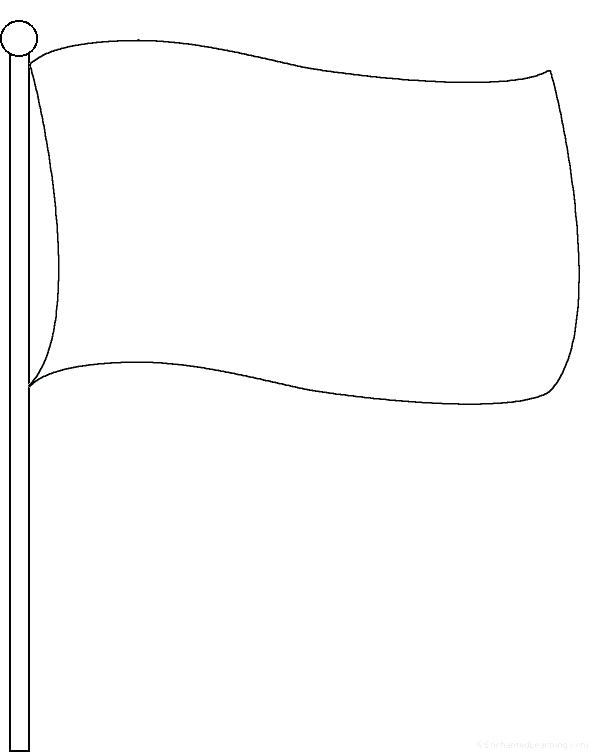 590x752 Italy Flag Coloring Page Blank Flag Outline Co Italy Flag Coloring