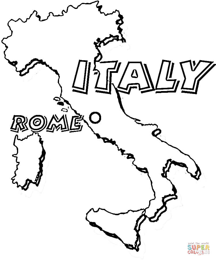 750x906 Top Italy Coloring Pages