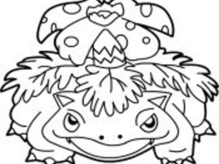 440x330 Ivysaur Coloring Pages Coloring Pages, Venusaur Coloring Pages