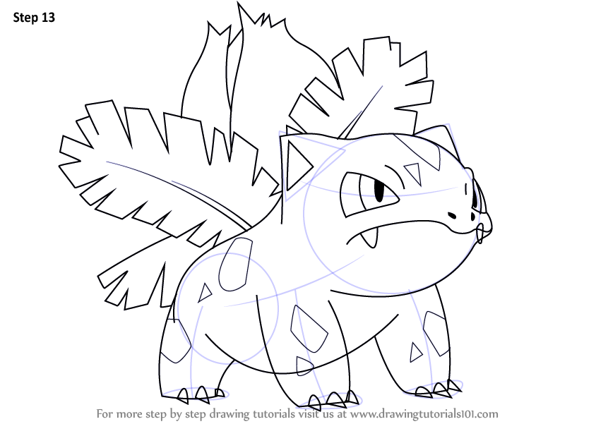 844x601 New Pokemon Coloring Pages Ivysaur