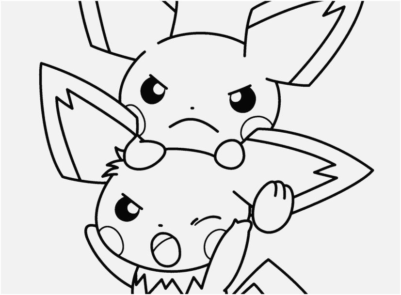 827x609 Pikachu Coloring Pages Stock Coloring Pages Cute Pokemon Best