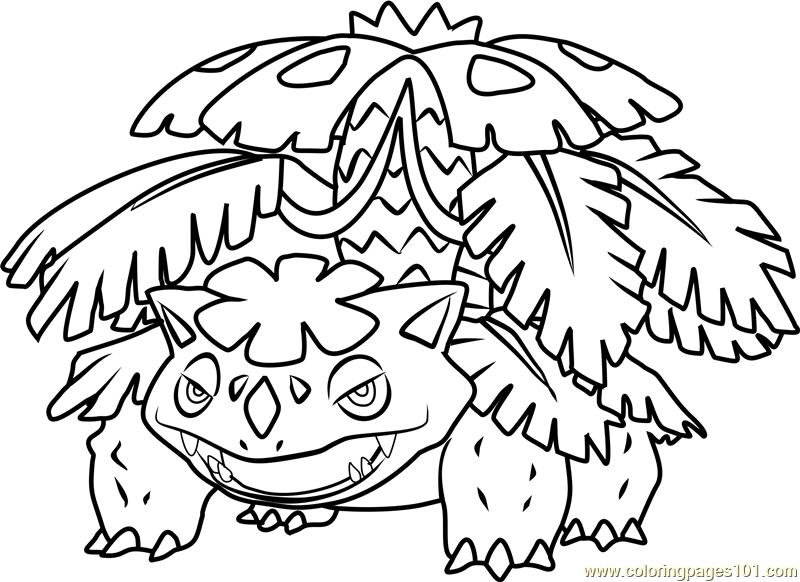 800x582 Pokemon Ivysaur Coloring Pages