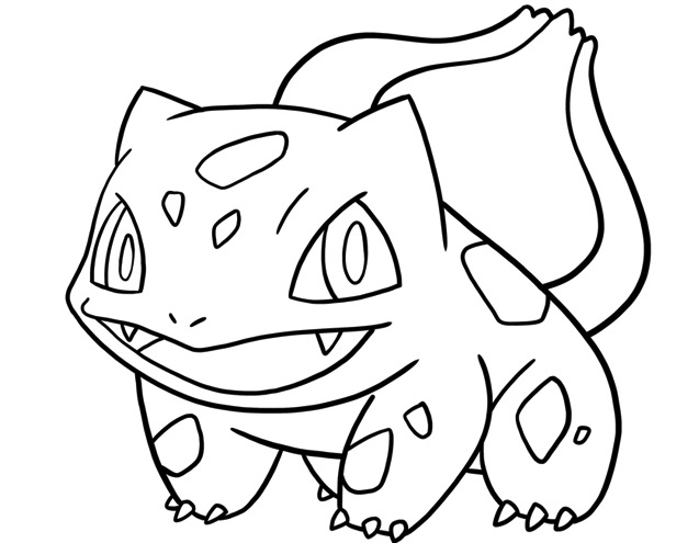 637x495 Bulbasaur Coloring Page Printable Free Coloring Pages