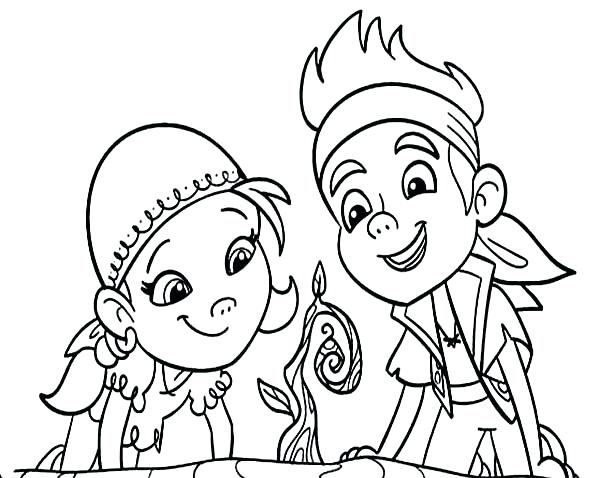 Izzy Coloring Pages