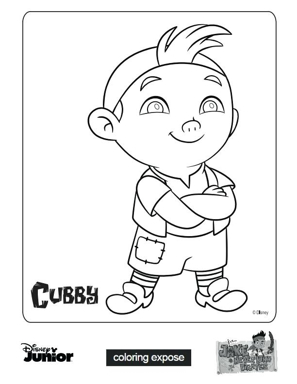 612x792 Jake And The Neverland Pirates Coloring Page Windows Coloring