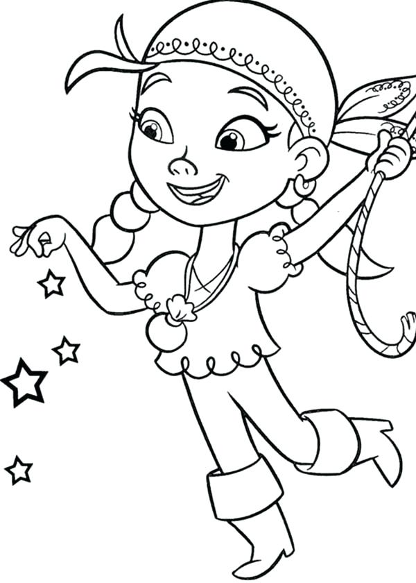 600x840 Jake Coloring Pages Captain Jake Coloring Pages