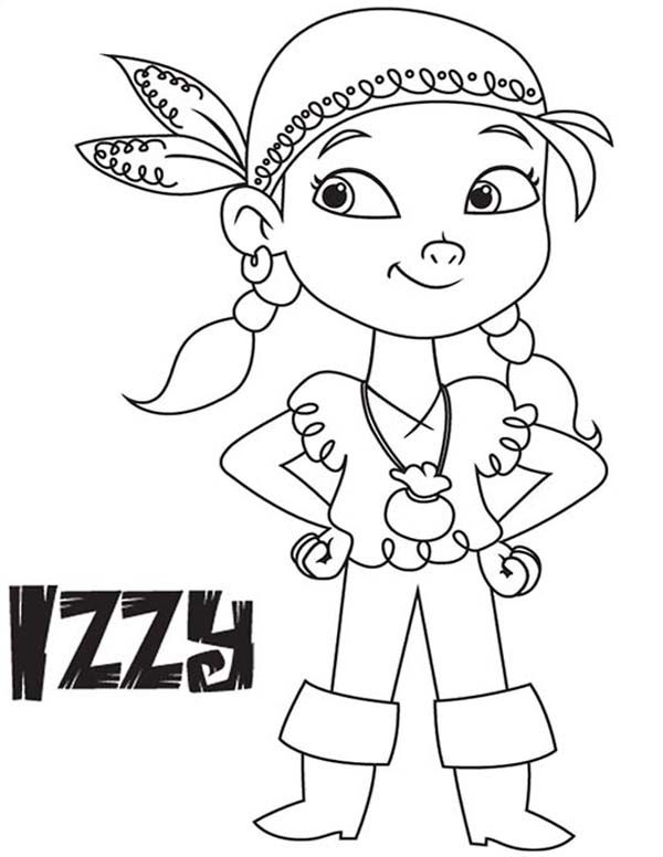 600x776 Jake And The Neverland Pirates, Izzy The Vice Captain Of Never
