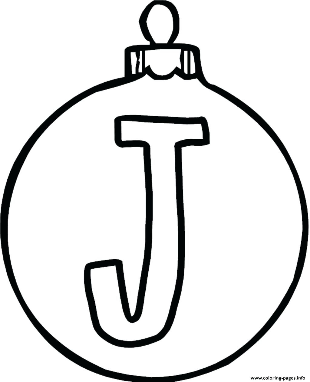 1024x1261 Coloring Page Letter J Coloring Pages Ornament Alphabet Sheets